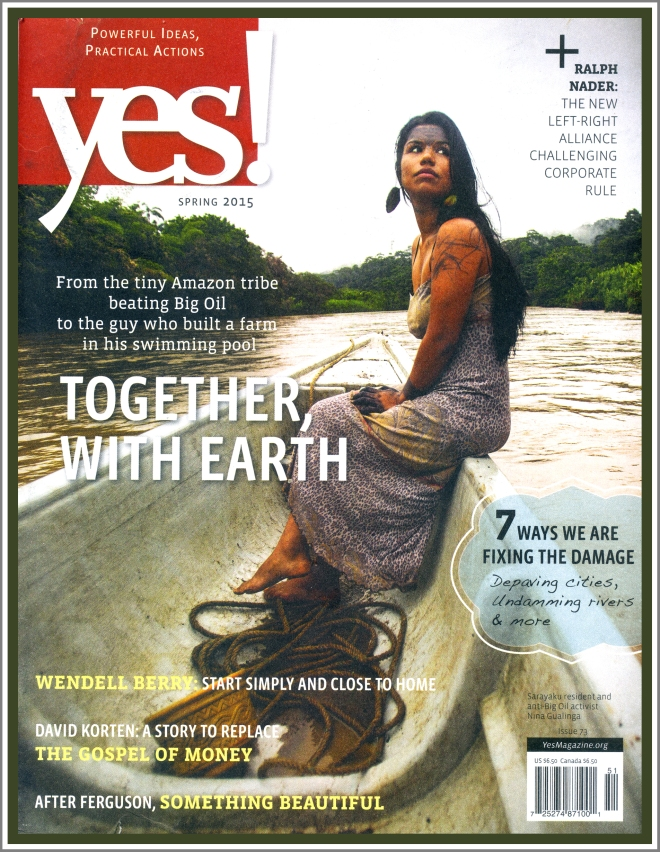 YES issue 73, Spring 2015 Together With Earath